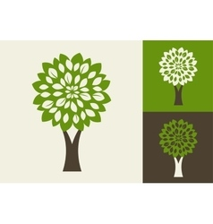 Green tre - logo and icon vector