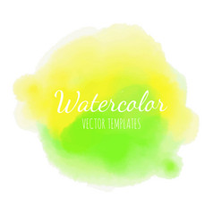 watercolor background 3 vector image