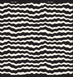 wavy ripple hand drawn lines abstract geometric vector image