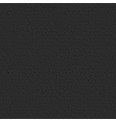 Seamless Leather Texture Black Leather Tiled vector image vector image