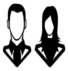 Businessman icon call centar6 resize vector image vector image
