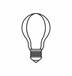 Light bulb icon outline style vector image vector image