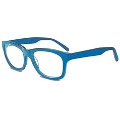 blu glasses vector image vector image