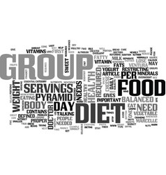 are we what we eat text word cloud concept vector image vector image