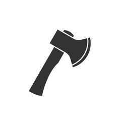 axe black icon vector image