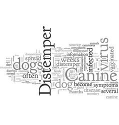 Canine distemper vector
