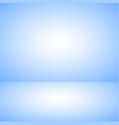 empty blue color product showcase studio room vector image