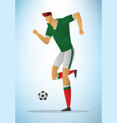 football player 26 vector image