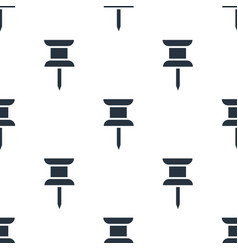 seamless drawing pin pattern education symbol vector image