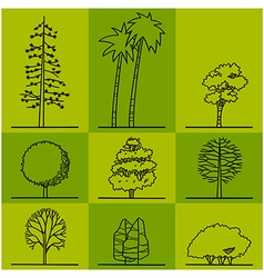Tree 2 vector