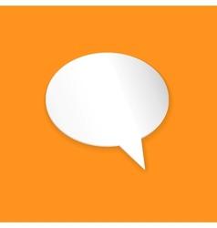 Speech Bubble Background vector image