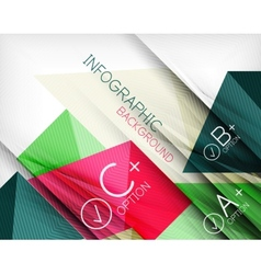Business presentation stripes abstract background vector image