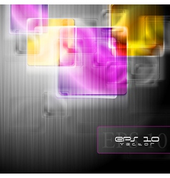 Elegant abstract design vector image