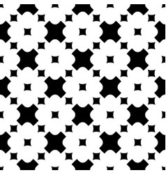 floral seamless pattern crosses squares vector image