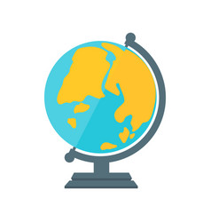 Globe earth geography element icon vector