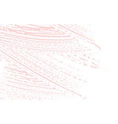 Grunge texture distress pink rough trace vector