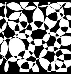 monochrome abstract background black and white vector image