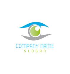 Optometrist logotype vector