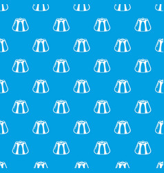 pudding pattern seamless blue vector image