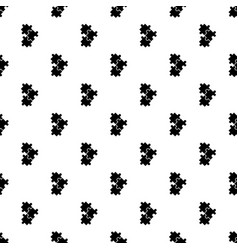 puzzle pattern seamless vector image