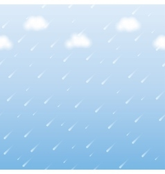 rainfall vector image