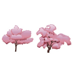 Sakura Tree2 vector image