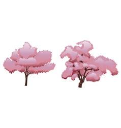 Sakura tree2 vector