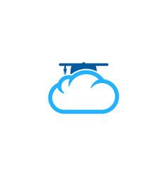 school weather and season logo icon design vector image