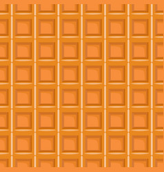 Seamless pattern with waffel texture vector