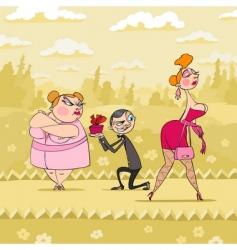 valentines day humor vector image