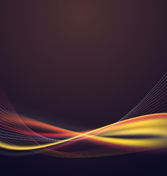 Bright speed lighting lines abstract background vector image