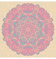 Flower Mandala Abstract element for design vector image