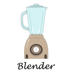 color of the blender vector image vector image