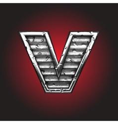 steel figure vector image vector image
