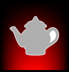 tea maker style vector image