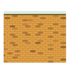 Colorful image realistic brick wall seamless vector