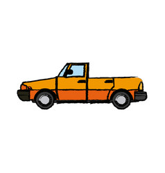 Car convertible sport automobile transport vector