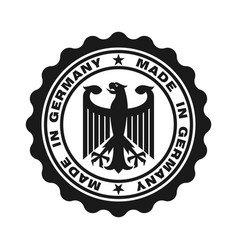 Germany black vector