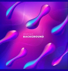 purple liquid color background design fluid vector image