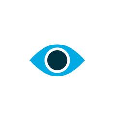remove red eye icon colored symbol premium vector image