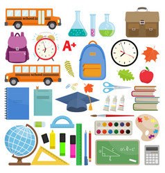 back to school sale vector image vector image