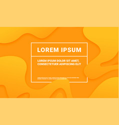 abstract orange modern background with minimal vector image