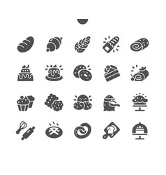 Bakery well-crafted pixel vector