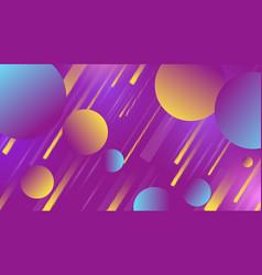 colorful geometric minimalictic background vector image