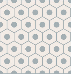 seamless pattern with gray pencil ends vector image