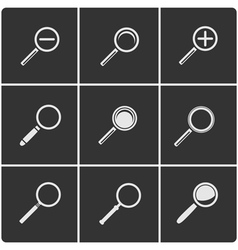 Search set vector image