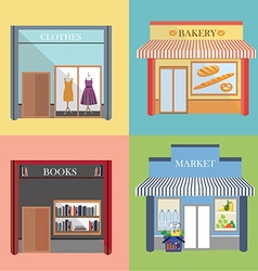 Shop and store vector