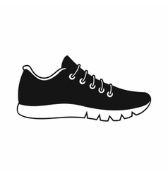 Sneakers icon simple style vector image