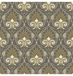 Traditional vintage pattern vector