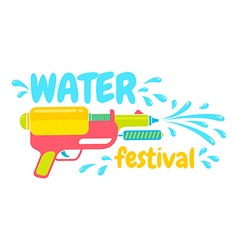 Water festival vector